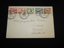 Germany 1936 Berlin Olympia-Stadion Special Cancellation Cover__(L-31703) - Briefe U. Dokumente