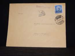 Germany 1938 Schiffspost Cover To Finland__(L-32350) - Covers & Documents