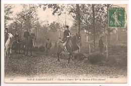 78 - RAMBOUILLET - Chasse à Courre,Le Vennerie:  Mme La Duchesse D'Uzès Chassant - Rambouillet