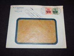 Germany Postgebiet 1917 Wilna N. Rachmilewitz Business Cover__(L-31649) - Bezetting 1914-18