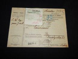 Hungary 1930 Budapest Vamkezelt Card__(L-31800) - Ungheria