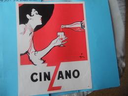 PUBLICITE   -   CINZANO - Advertising
