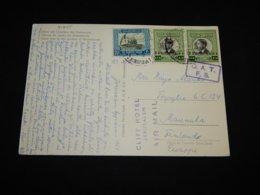 Jordan 1964 O.A.T. Cancellation Postcard To Finland__(L-31635) - Jordanië