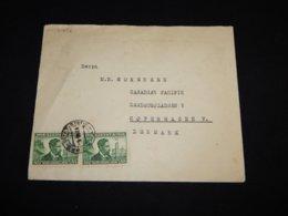 Lithuania 1939 Stotis Cover To Denmark__(L-31652) - Lithuania