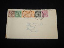 Malaya 1951 Taiping Cover To Denmark__(L-31439) - Federation Of Malaya