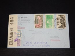Mexico 1940 Censored Air Mail Cover To Finland__(L-32612) - Mexico