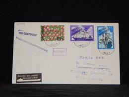 Netherlands 1984 Pori M/v Delfborg Navire Cover__(L-34068) - Period 1980-... (Beatrix)
