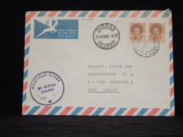 Netherlands 1989 Durban M.V. Nedlloyd Colombo Paquebot Cover__(L-34290) - Period 1980-... (Beatrix)