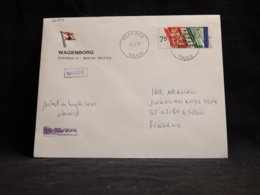 Netherlands 1990 Tolkkinen Wagenborg Navire Cover__(L-32294) - Period 1980-... (Beatrix)