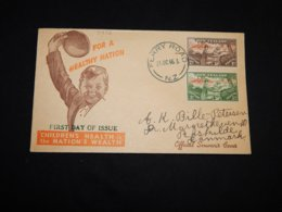 New Zealand 1946 Ferry Road Childrens Health Stamps Cover__(L-31972) - Covers & Documents
