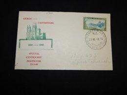 New Zealand 1948 Dunedin Special Centenary Cover__(L-31962) - New Zealand