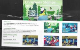 IRELAND, 2019, MNH, CHRISTMAS, BIRDS, BOOKLET - Navidad