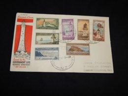 New Zealand 1979 Christchurch Lighthouses Souvenir Cover__(L-31955) - Covers & Documents
