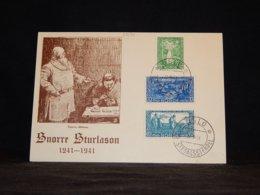 Norway 1941 Oslo Snorre Sturlason Card__(L-33194) - Norwegen