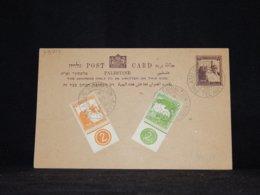 Palestine 1946 Tel Aviv Stationery Card__(L-33719) - Palestine