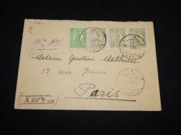 Romania 1926 Ploiesti Cover To France__(L-31464) - 1918-1948 Ferdinand, Charles II & Michael