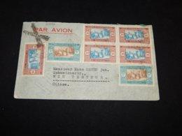 Senegal 1934 Air Mail Cover To Switzerland__(L-31936) - Senegal (1887-1944)