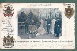 VAALS AACHEN KELMIS ALTENBERG MORESNET  GRENZLEBEN AM VIERLANDERBLICH - La Calamine - Kelmis