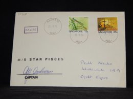 Singapore 1994 Rauma M/S Star Pisces Navire Cover__(L-34348) - Singapore (1959-...)