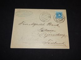 Spain 1905 Alicante Business Cover To Finland__(L-31616) - 1889-1931 Royaume: Alphonse XIII