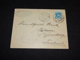 Spain 1905 Alicante Business Cover To Finland__(L-31616) - Briefe U. Dokumente
