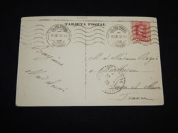 Spain 1930 Santa Cruz Postcard To France__(L-31863) - 1889-1931 Royaume: Alphonse XIII