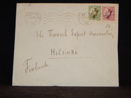 Spain 1932 Tanger Cover To Finland__(L-33030) - 1931-50 Briefe U. Dokumente