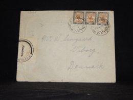Sudan 1926 Jerusalem Cover To Denmark__(L-33093) - Sudan (...-1951)