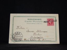 Sweden 1903 Från Utlandet Ship Mail Postcard__(L-33908) - Zweden