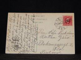 Sweden 1908 Turku Från Utlandet Ship Mail Card__(L-33278) - Covers & Documents