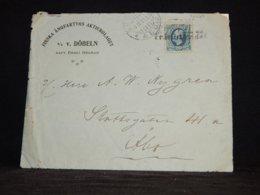 Sweden 1911 S/S Döbeln Kapt. Ernst Hedman Cover To Finland__(L-32429) - Brieven En Documenten