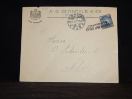 Sweden 1912 Ship Mail Cover To Finland__(L-32335) - Brieven En Documenten