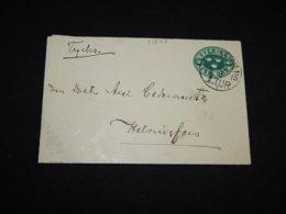 Sweden 1915 Stockholm Censored 5ö Green Stationery Envelope To Finland__(L-31849) - Postal Stationery