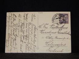 Sweden 1928 Turku Ship Mail Postcard__(L-33284) - Sweden
