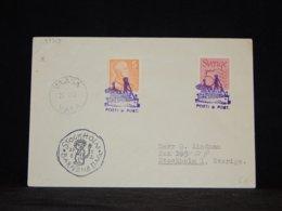 Sweden 1952 Vaasa Ship Mail Cover__(L-33313) - Brieven En Documenten