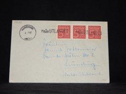 Sweden 1962 Mariehamn Från Utlandet Ship Mail Cover__(L-33282) - Brieven En Documenten