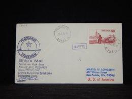 Sweden 1980 Porvoo M/T Oceanus Navire Cover__(L-32627) - Sweden