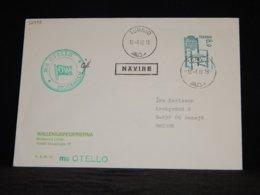 Sweden 1982 Tornio M/S Otello Navire Cover__(L-32990) - Sweden