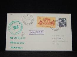 Sweden 1983 Kristinestad Ms Otello Navire Cover__(L-32615) - Sweden