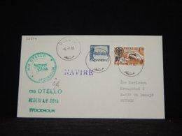 Sweden 1984 Oulu Ms Otello Navire Cover__(L-32574) - Sweden