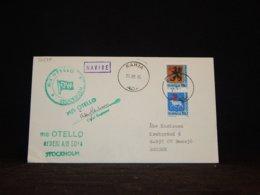 Sweden 1984 Rahja Ms Otello Navire Cover__(L-32575) - Sweden