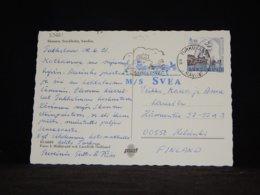 Sweden 1991 Turku M/S Svea Navire Card__(L-33621) - Sweden