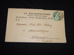 Switzerland 1907 Geneve Wrapper To Finland__(L-31331) - Interi Postali