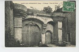 SAINT LEU D'ESSERENT - L'Abbaye - Porte Du Cloître - France