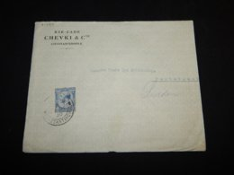UK 1920 Constantinople Business Cover__(L-31487) - 1902-1951 (Kings)