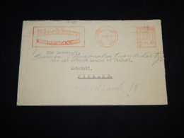 UK 1929 Meter Mark Cover To Finland__(L-31325) - 1902-1951 (Kings)