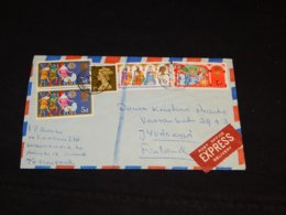 UK 1969 M/S Finnseal Express Cover To Finland__(L-32230) - Briefe U. Dokumente