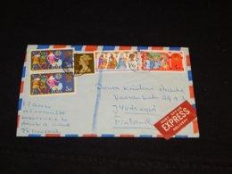 UK 1969 M/S Finnseal Express Cover To Finland__(L-32230) - 1952-.... (Elizabeth II)