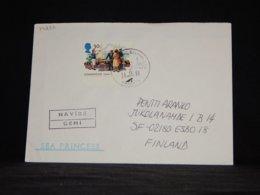 UK 1994 Karaköy Sea Princess Navire Cover__(L-34237) - 1952-.... (Elizabeth II)