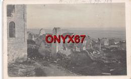 Carte Postale Photo Militaire Allemand-MONTFAUCON (55-Meuse) Village Détruit Guerre-Krieg 1914-1918 - France